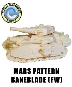 [Recherche] GI /SM WarEngines-Baneblade-Mars